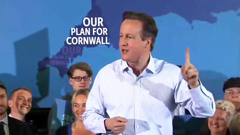 Cameron in Cornwall